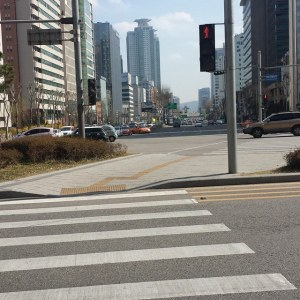 walking around Cheongdam
